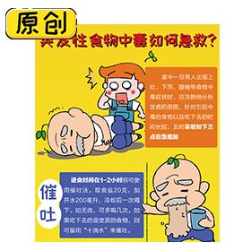 突发性食物中毒如何急救? (1)