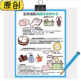 怎样预防细菌性食物中毒 (1)