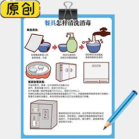餐具怎样清洗消毒 (1)