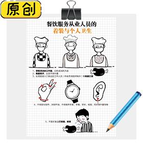 餐饮服务从业人员的着装与个人卫生 (1)
