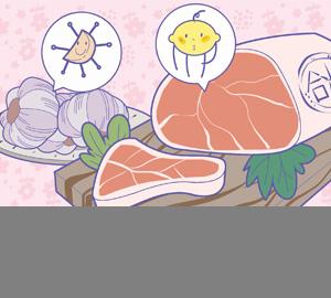 科普视频:吃肉不吃蒜,营养减一半